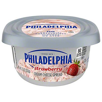 Kraft Philadelphia Strawberry Cream Cheese Spread, 8 oz