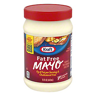 Kraft Mayo Fat Free Mayonnaise,15 OZ