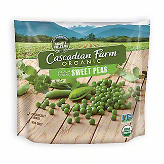 Cascadian Farm Organic Sweet Peas,10 OZ