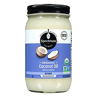 Spectrum Organic Refined Coconut Oil,14 OZ