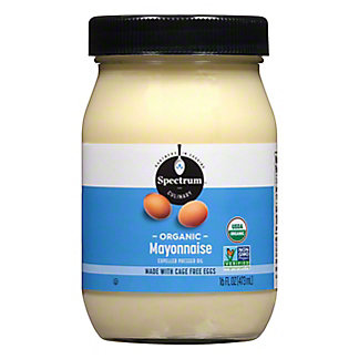 Spectrum Organic Mayonnaise,16 OZ.