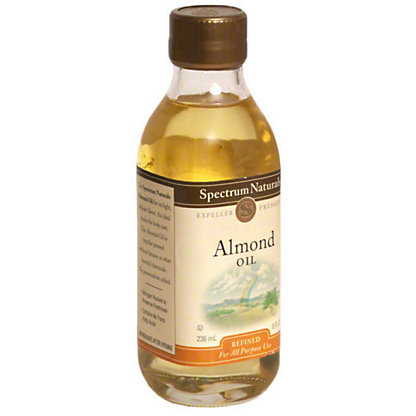 Spectrum Naturals Refined Almond Oil,8 OZ