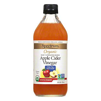 Spectrum Organic Unfiltered Apple Cider Vinegar,16 OZ
