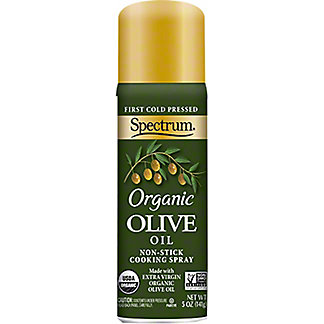 Spectrum Cooking Oil, Olive, Spray,6 OZ