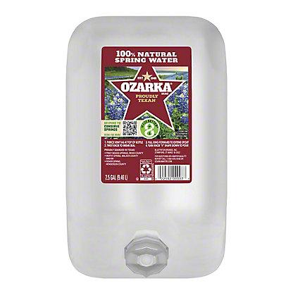 Ozarka 100% Natural  Spring Water, 2.5 gal