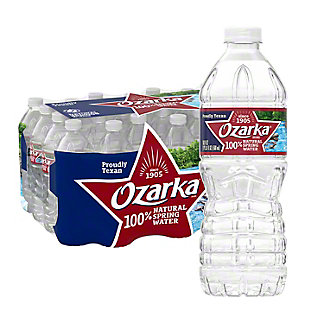 Ozarka 100% Natural Spring Water 24 PK, 16.9 oz