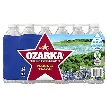 Ozarka 100% Natural Spring Water 24 PK, 16.9 oz