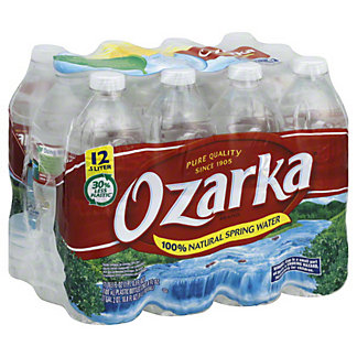 Ozarka Ozarka 100% Natural Spring Water, 12 pk,16.9 oz