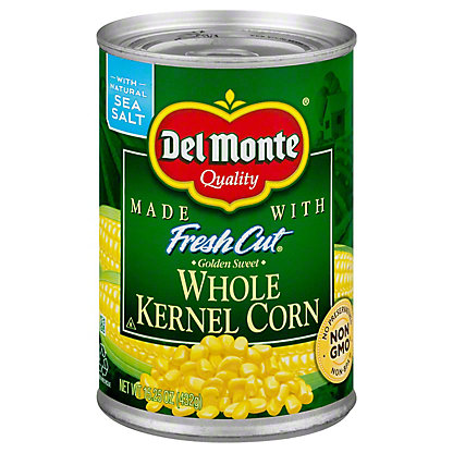 Del Monte Golden Sweet Whole Kernel Corn, 15.25 oz