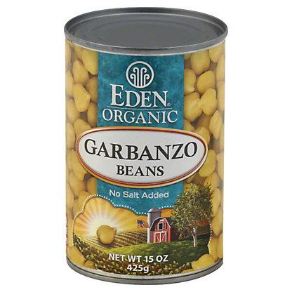 Eden Organic Garbanzo Beans, 15 oz