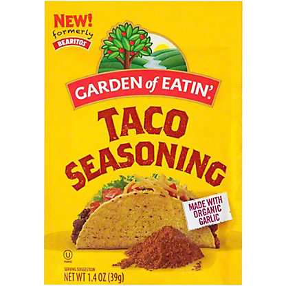 Bearitos Taco Seasoning,1.4 OZ