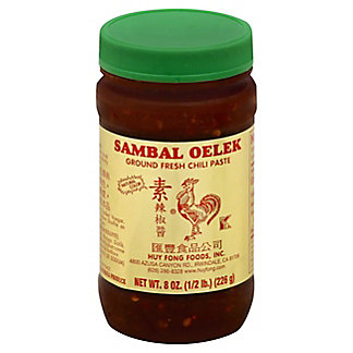 Sambal Oelek Ground Fresh Chili Paste,8.00 oz