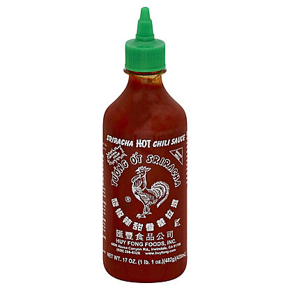 Huy Fong Sriracha Hot Chili Sauce,17 OZ