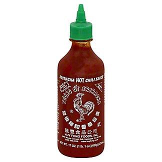 Huy Fong Sriracha Hot Chili Sauce,17 OZ