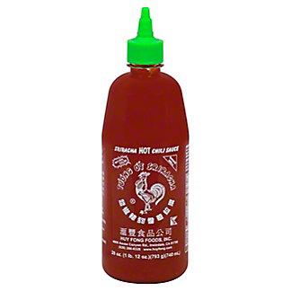 Huy Fong Sriracha Hot Chili Sauce, 28 oz