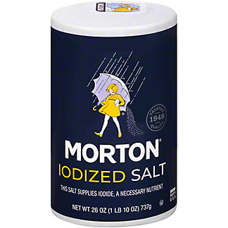 Morton Iodized Salt,26 OZ