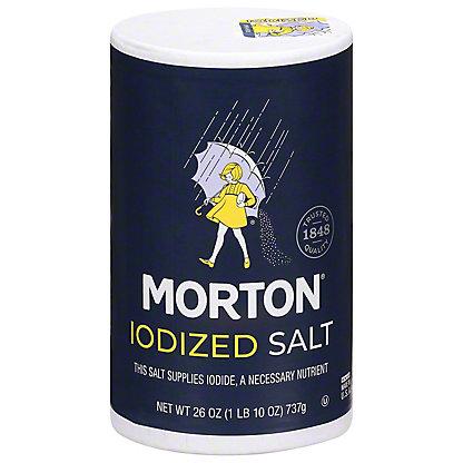 Morton Iodized Salt,26 OZ