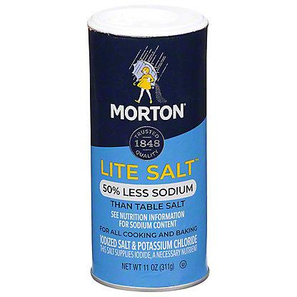 Morton Lite Salt, 11 oz