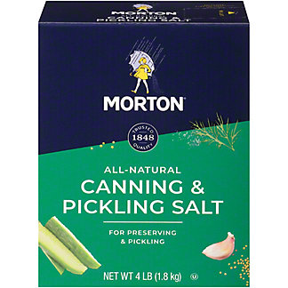 Morton Salt, Canning & Pickling, 4 lb