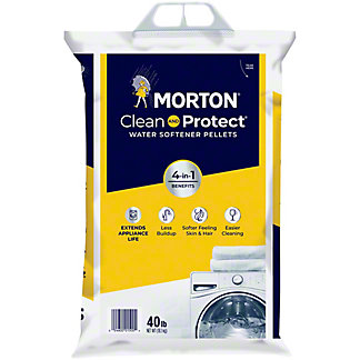Morton System Saver II Water Softening Pellets For All Softeners, 40 lbs