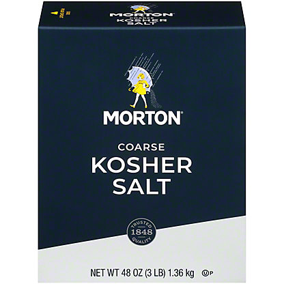 Morton Coarse Kosher  Salt,3 LB
