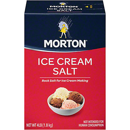Morton Ice Cream Salt,4 LBS
