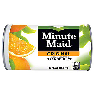 Minute Maid Premium Frozen Original 100% Orange Juice,12 oz