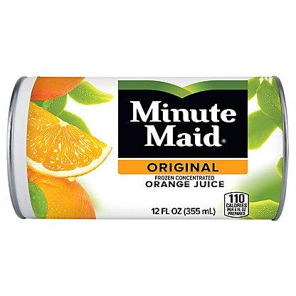 Minute Maid Premium Frozen Original 100% Orange Juice,12 oz