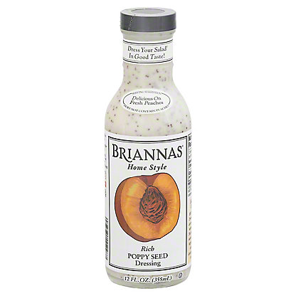 Brianna's Home Style Rich Poppy Seed Dressing,12.00 oz