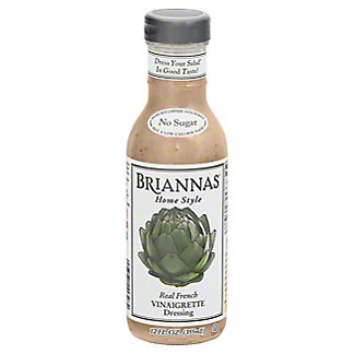 Brianna's Home Style Real French Vinaigrette Dressing,12.00 oz