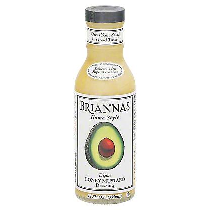 Brianna's Home Style Dijon Honey Mustard Dressing, 12 oz