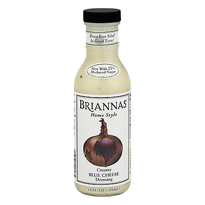 Brianna's Home Style True Blue Cheese Dressing, 12 oz