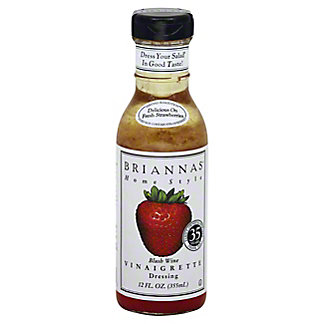Brianna's Home Style Blush Wine Vinaigrette Dressing,12 oz