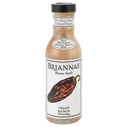 Brianna's Home Style Chipotle Cheddar Dressing,12 oz