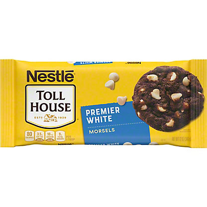 Nestle Toll House Premier White Morsels, 12 oz