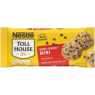 Nestle Toll House Mini Semi-Sweet Chocolate Morsels, 10 oz