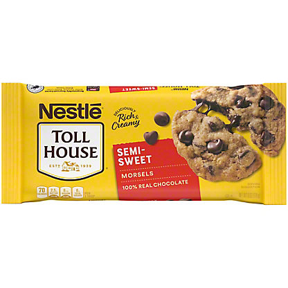Nestle Toll House Semi-Sweet Chocolate Morsels, 6 oz