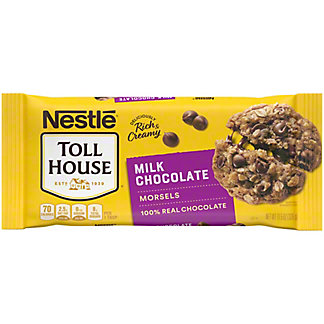 Nestle Toll House Milk Chocolate Morsels, 11.5 oz