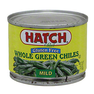 Hatch Fire Roasted Mild Whole Green Chiles, 4 oz
