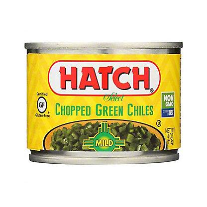 Hatch Mild Chopped Green Chilies,4OZ