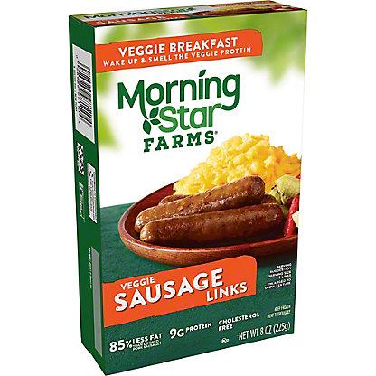 MorningStar Farms Veggie Sausage Links,8 oz