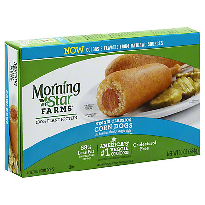 MorningStar Farms Veggie Corn Dogs,4.00 ea
