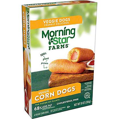 MorningStar Farms Veggie Corn Dogs,4.00 ea
