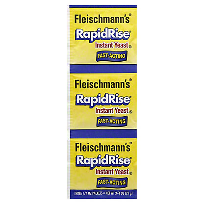 Fleischmann's RapidRise Highly Active Dry Yeast, 3 ct
