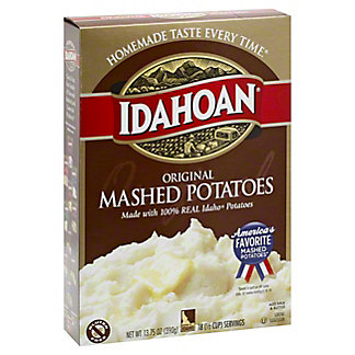 Idahoan Original Mashed Potatoes,13.75 OZ