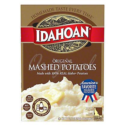 Idahoan Original Mashed Potatoes,13.75 OZ