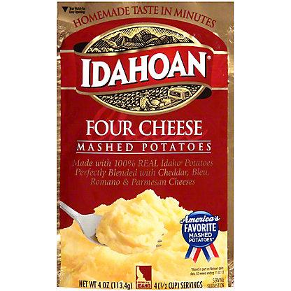 Idahoan Four Cheese Mashed Potatoes, 4 oz