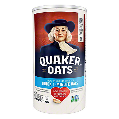 Quaker Quick 1-Minute Oats,18 OZ