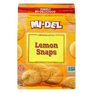 Mi-Del Old-fashioned Swedish Style Lemon Snaps,10 OZ