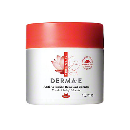 Derma E Anti-Wrinkle Vitamin A Retinyl Palmitate Creme, 4 oz
